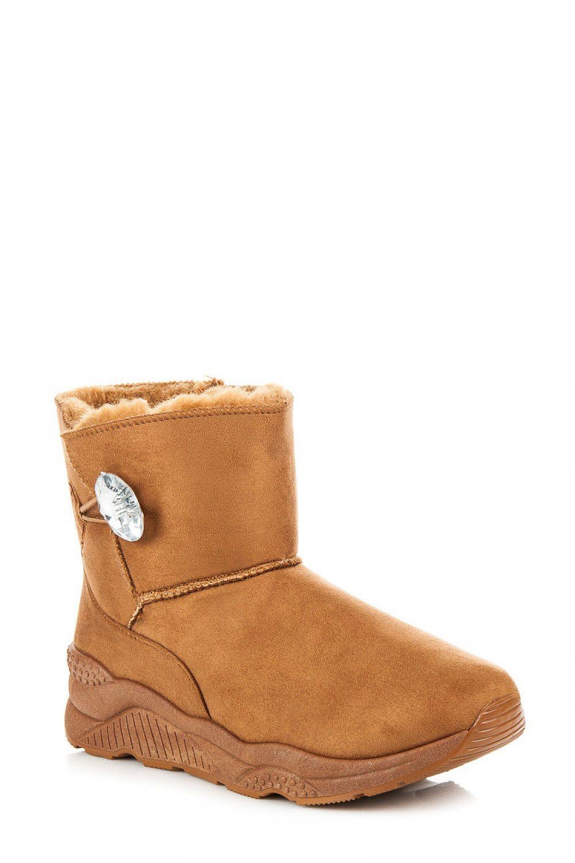 Zoki bottes de neige model 111480 beige - Chaussures Bottes de neige Femme