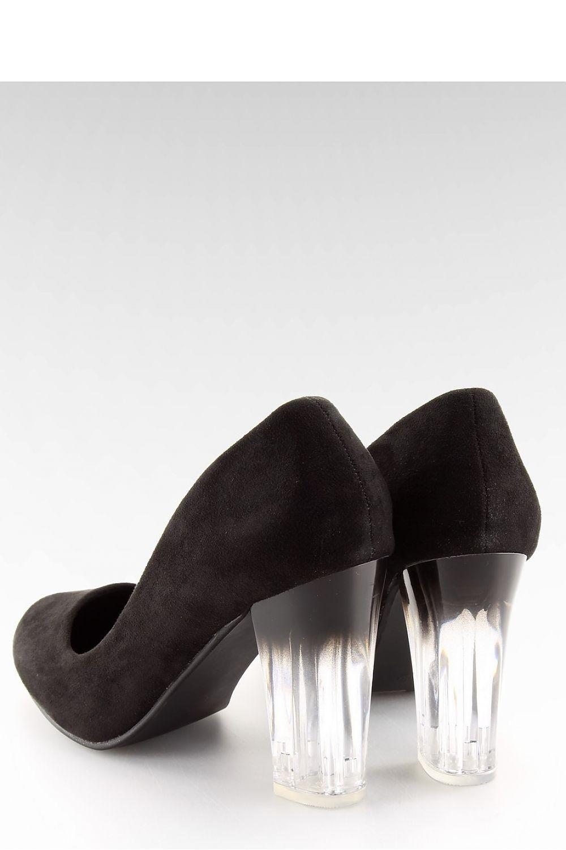 Inello Escarpins talon large model 115039 noir - Chaussures Escarpins Femme